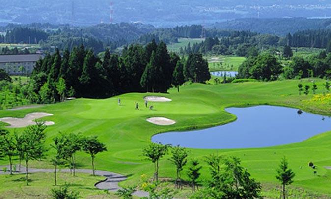 あてま高原リゾート ベルナティオゴルフコース