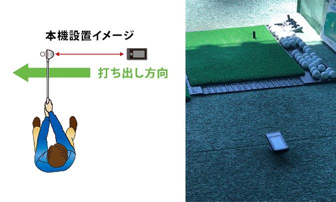 ゴルフスイングトレーナーの使い方