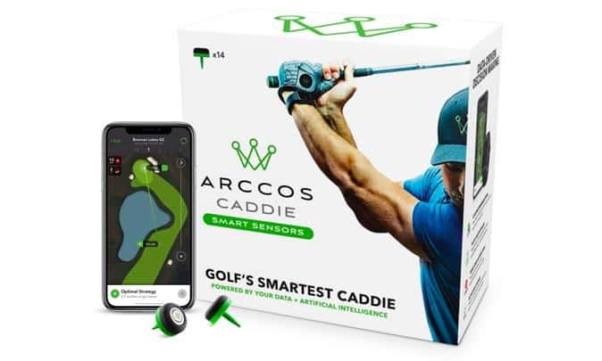 アーコスゴルフ Arccos Caddie Smart Sensors